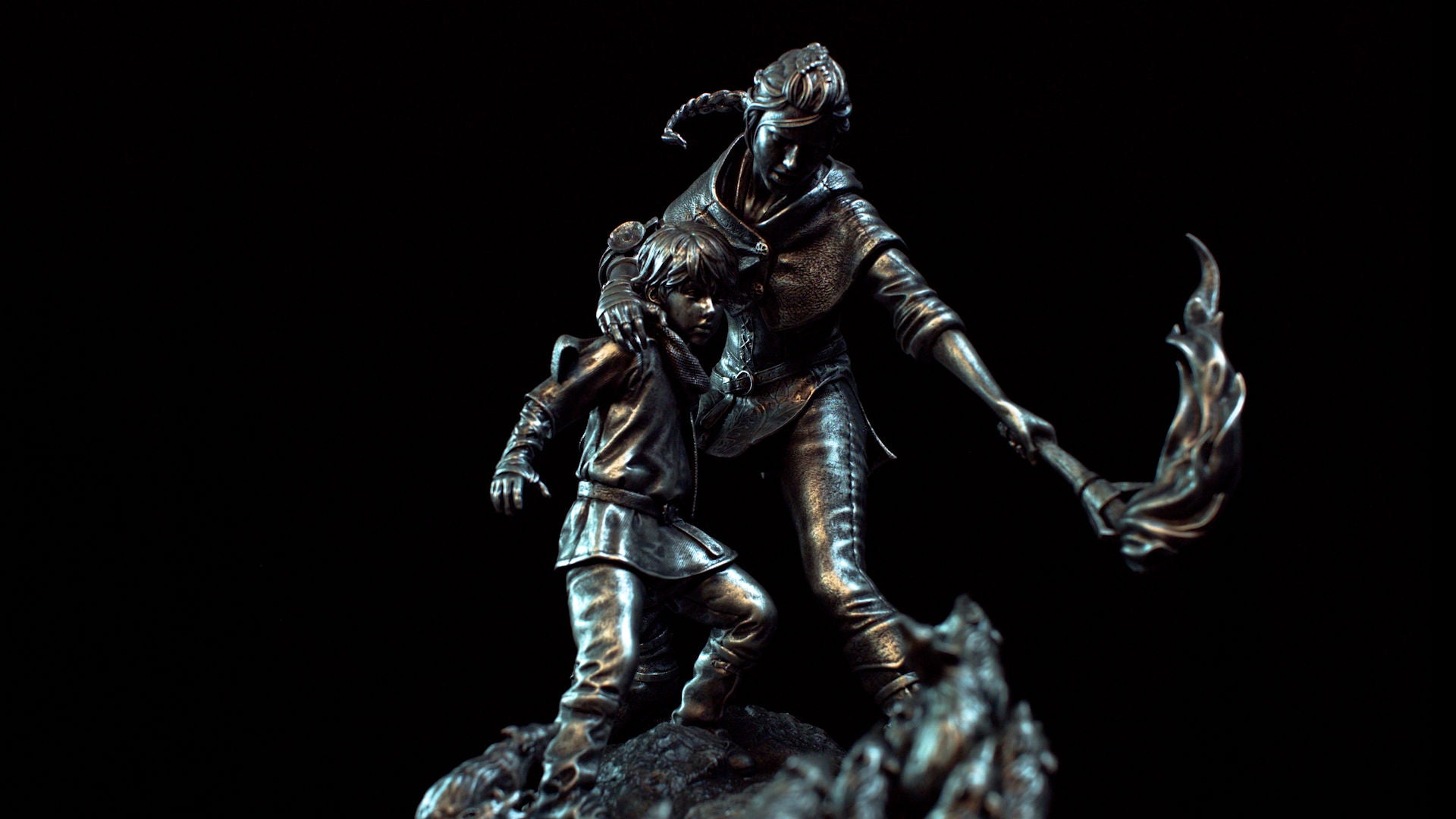 A Plague Tale Statue Full
