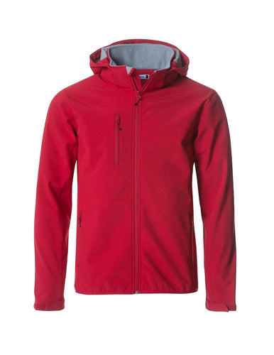 Clique - Basic Hoody Softshell Red