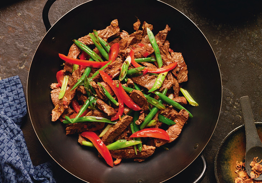 Aussie Beef and Lemongrass Stir Fry