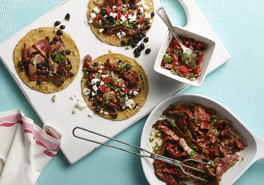 Grass-Fed Beef Barbacoa Tacos