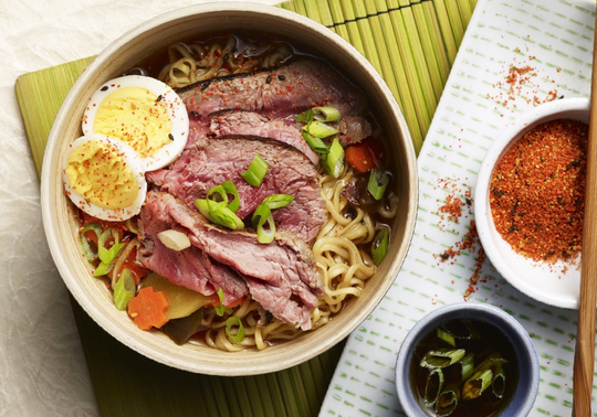 Shaved Grass-Fed Beef Ramen