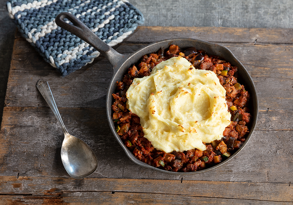 Lamb & Mashed Potato Country Skillet