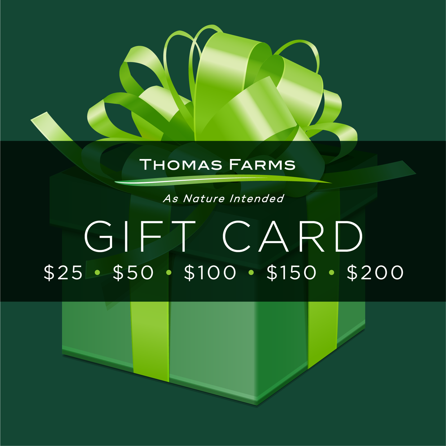 Thomas Farms Gift Card