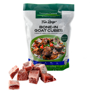 Thomas Farms Free Range Goat Cubes (2 Pack)