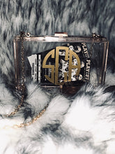 Load image into Gallery viewer, Monogrammed Acrylic Clutch *Backorder*