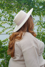 Load image into Gallery viewer, Belted Felt Hat (Cream)