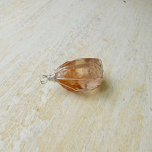 Load image into Gallery viewer, pre-order gold wrapped smoky quartz crystal necklace