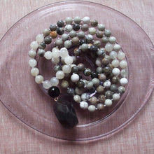 Load image into Gallery viewer, soften and smile jasper mala beads