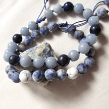 Load image into Gallery viewer, writer's sodalite wrist mala