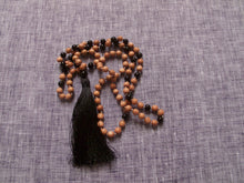 Load image into Gallery viewer, grounded and protected rosewood mala