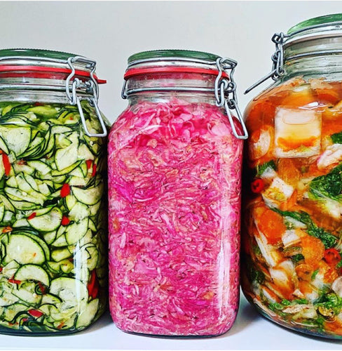 Online Workshop: Fermented Vegetables
