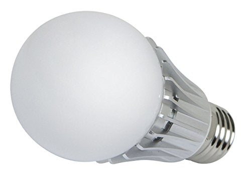 270° 6-Watt (35W Equivalent) A 19 LED Bulb, 450 Lumens, Cool/ Daylight (6000K) - Non-Dimmable - SimplyASP Tech