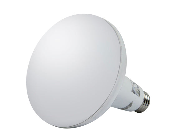 14-Watt (75W Equivalent) BR 40 LED Bulb, 1150 Lumens, Warm/ Soft (3000K) - Dimmable - SimplyASP Tech