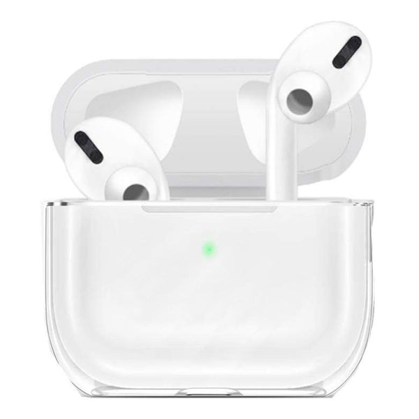 HIGH QUALITY CLEAR PC HARD CASE (FRONT LED VISIBLE) FOR AIRPODS PRO 2019 - ULTRA CLEAR
