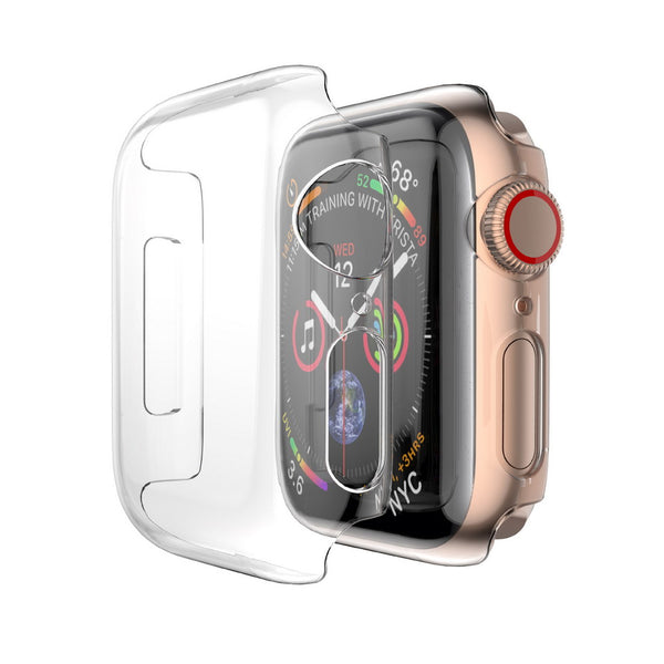 FOR IWATCH SERIES 5 / 4 40MM CRYSTAL CASE - CLEAR
