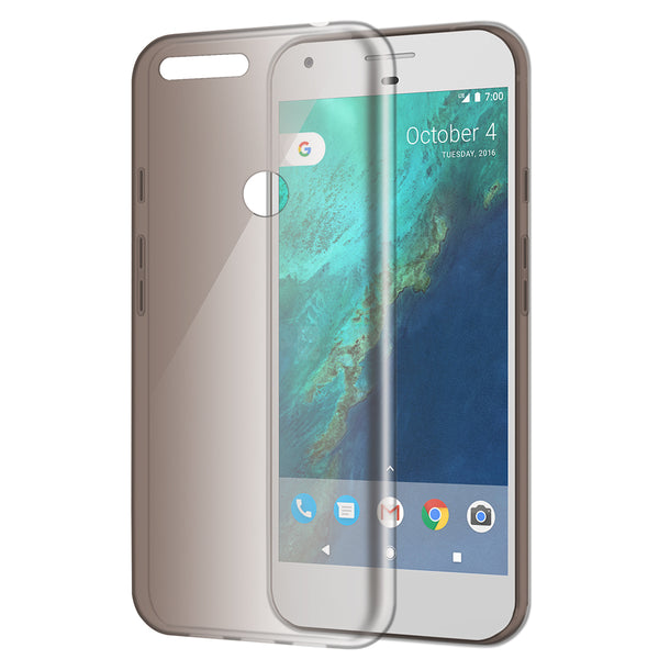 GOOGLE PIXEL XL HIGH QUALITY CRYSTAL SKIN CASE SMOKE
