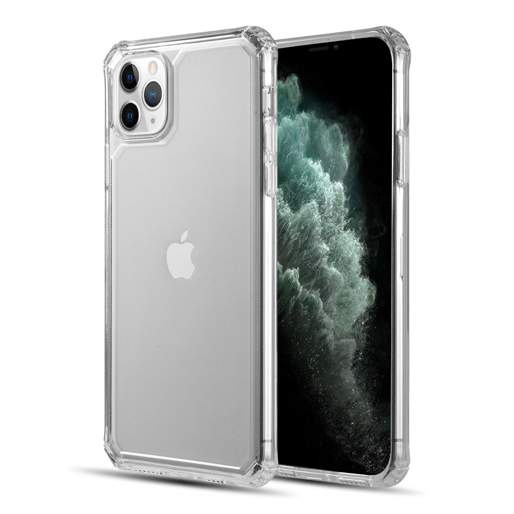 CLEAR GUARD THICK TPU WITH SHOCKPROOF CORNERS FOR EXTRA PROTECTION FOR IPHONE 11 PRO - CLEAR