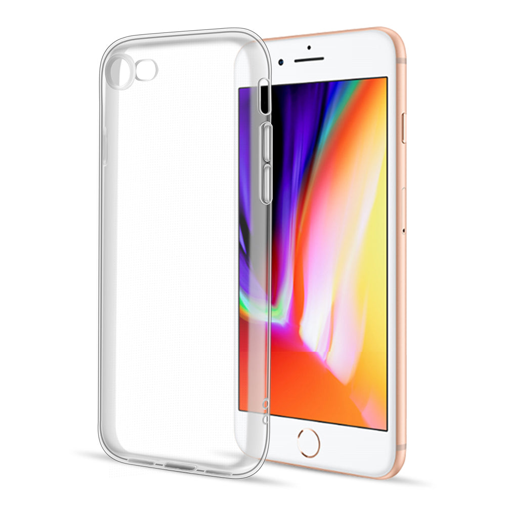 FOR IPHONE SE (2020) / 8 / 7 HIGH QUALITY CRYSTAL SKIN CASE CLEAR
