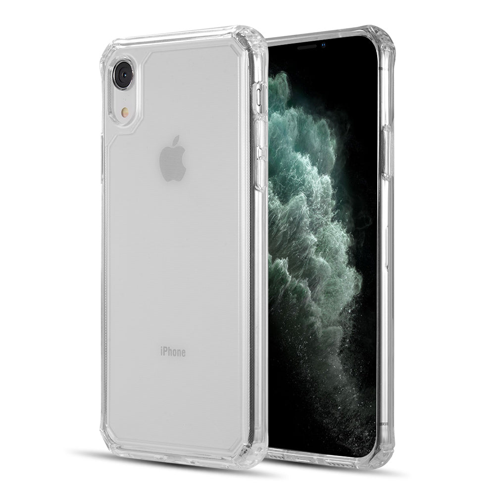 CLEAR GUARD THICK TPU WITH SHOCKPROOF CORNERS FOR EXTRA PROTECTION FOR IPHONE XR - CLEAR