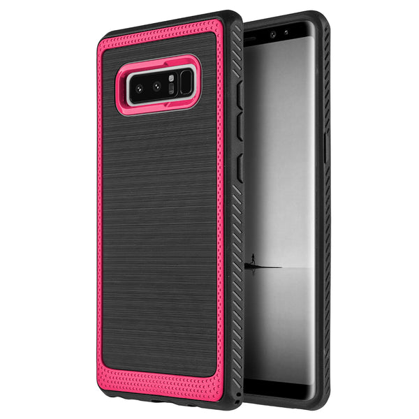 SAMSUNG GALAXY NOTE 8 PROTEK SILKY TPU CASE - RED