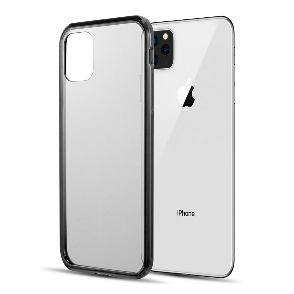 FUSION CANDY TPU WITH CLEAR ACRYLIC BACK FOR IPHONE 11 PRO - BLACK