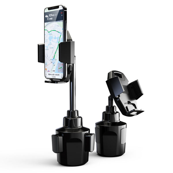 #68 UNIVERSAL HIGH QUALITY ADJUSTABLE CUP HOLDER PHONE MOUNT WITH EXTENDABLE NECK FOR BETTER VIEWING AND QUICK LOCK & RELEASE BUTTON