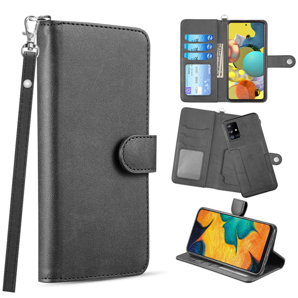THE INFINITY SERIES LEATHER WALLET CASE FOR SAMSUNG GALAXY NOTE 20 ULTRA (6.9