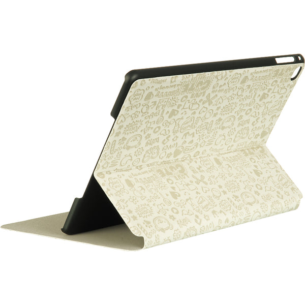FOR IPAD AIR 2 CARTON POUCH WITH STAND - WHITE