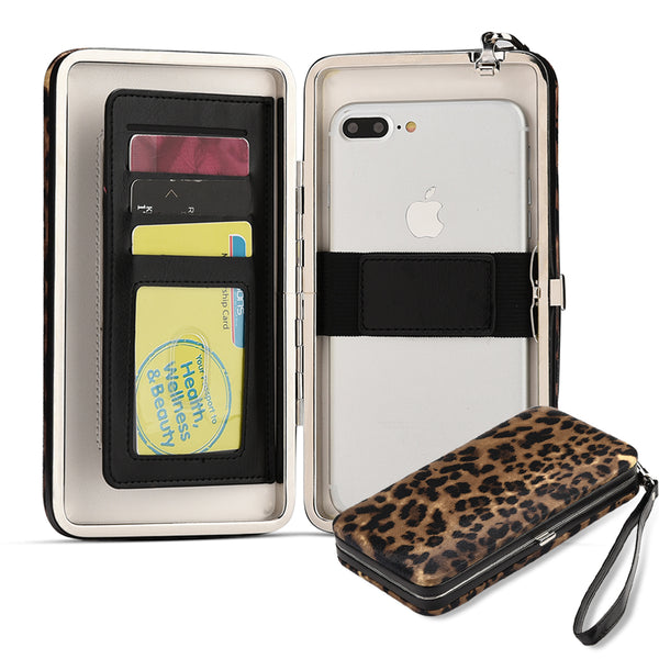 UNIVERSAL STYLISH VERA PHONE WALLET CASE / CLUTCH WITH MIRROR