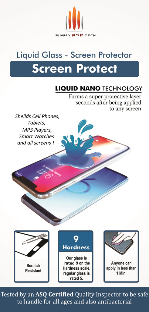 SimplyASP Tech Liquid Glass Screen Protector - SimplyASP Tech