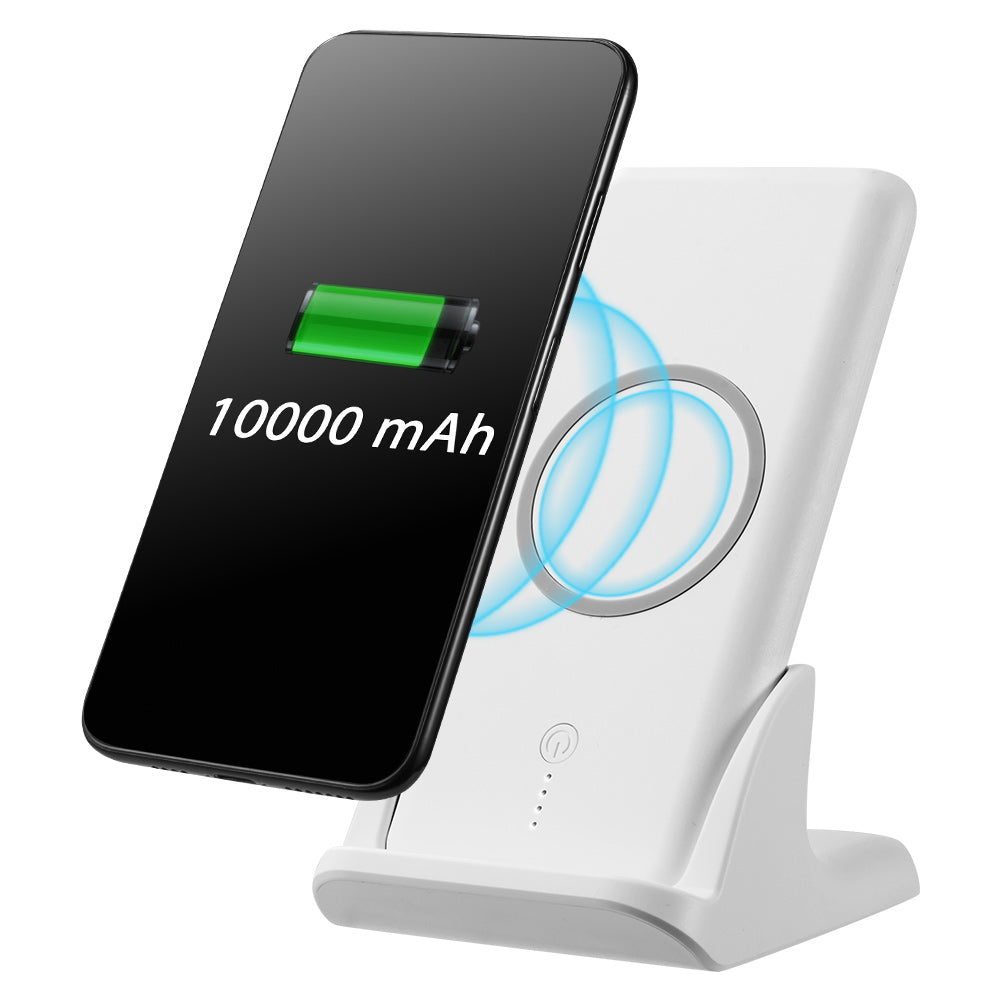 UNIVERSAL 10,000 MAH WIRELESS CHARGE POWERBANK WITH CHARGING