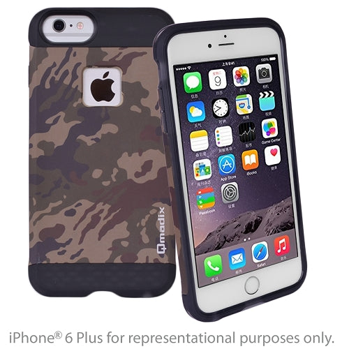 Qmadix X Series iPhone 6/6s Plus Case (Camo Army/Desert) - SimplyASP Tech
