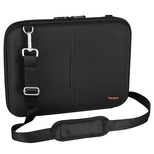 Targus Hard-Sided Laptop Slipcase w/Adjustable Shoulder Strap - Fits Up To 13.3
