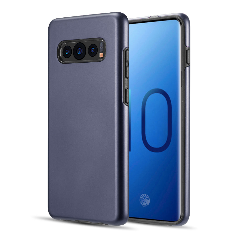 SAMSUNG GALAXY S10 THE PATROL DUAL HYBRID PROTECTION CASE - NAVY BLUE