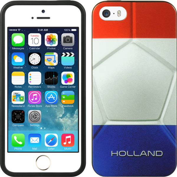 FOR IPHONE 5 / 5S / SE TPU IMD CASE FLAG HOLLAND
