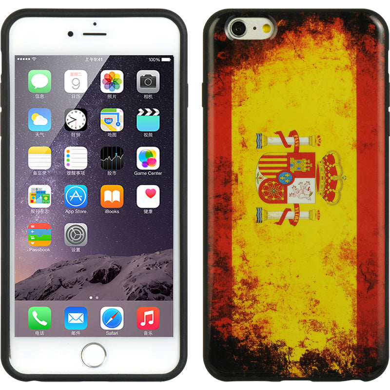 FOR IPHONE 6 / 6S PLUS TPU IMD CASE FLAG SPAIN