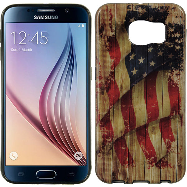 SAMSUNG GALAXY S6 BLACK TPU IMD CASE FADED GLORY