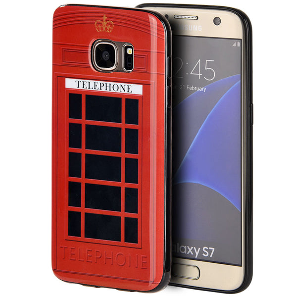 SAMSUNG GALAXY S7 TPU IMD CASE TELEPHONE BOOTH