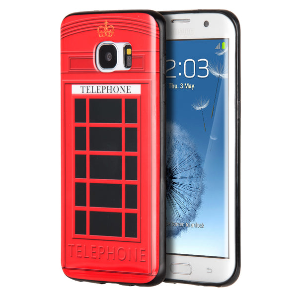 SAMSUNG GALAXY S7 EDGE TPU IMD CASE TELEPHONE BOOTH