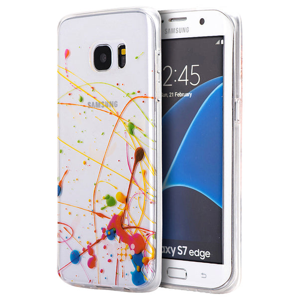 SAMSUNG GALAXY S7 EDGE TPU WATER COLOR IMD CASE INNER PICASSO