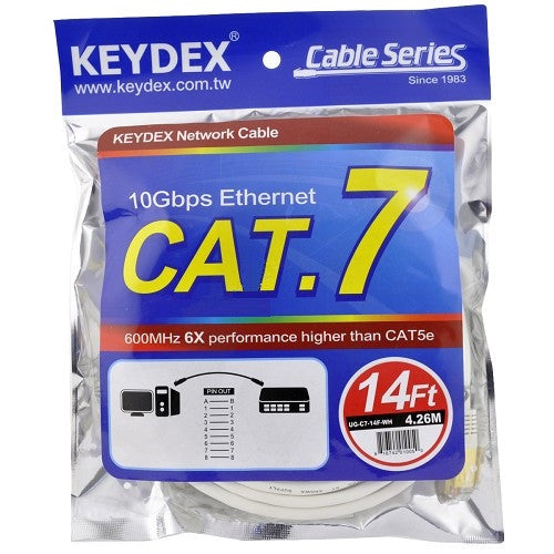 Cat 7 SSTP Patch Cable 14 Feet