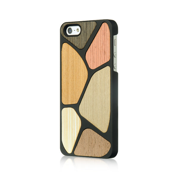 FOR IPHONE 5 / 5S / SE MULTI WOOD REAR