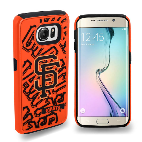 SAN FRANCISCO GIANTS DUAL HYBRID 2PC SAMSUNG GALAXY S6 EDGE COVER-TPU