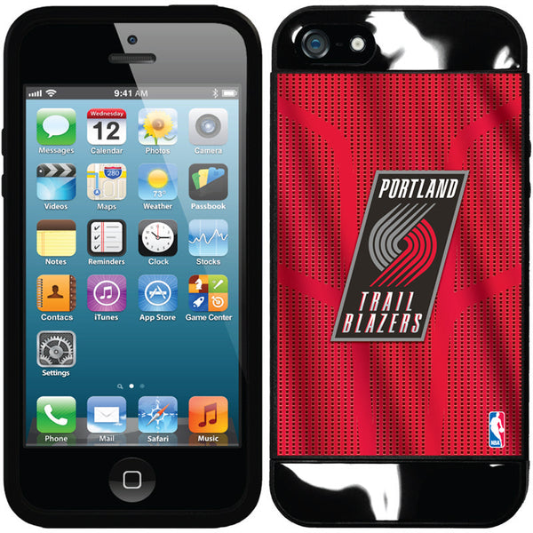 FOR IPHONE 5 / 5S / SE PORTLAND TRAILBLAZERS - JERSEY