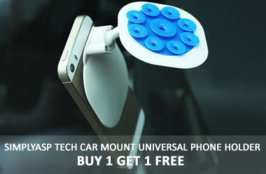 Simply ASPTech Car Mount Universal Phone Holder