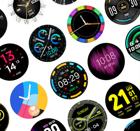 s20 pro watch faces