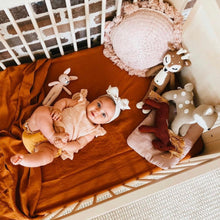Load image into Gallery viewer, COT SIZE CLAY FITTED SHEET PREORDER ETA EARLY NOV