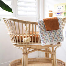 Load image into Gallery viewer, BASSINET CLAY FITTED SHEET PREORDER ETA LATE OCT