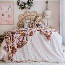 Load image into Gallery viewer, ROSEWOOD + PEONY DUVET SET
