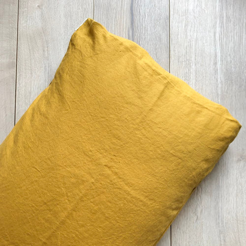 MUSTARD PILLOWCASE
